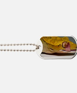 Crested Gecko Lick Dog Tags