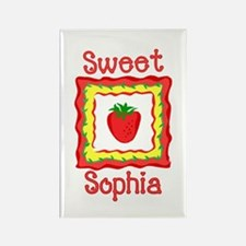 Sweet Sophia Rectangle Magnet