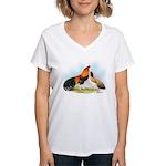 Cubalaya Games Women's V-Neck T-Shirt
