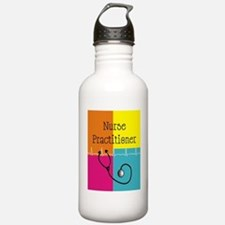 Nurse Practitioner cas Water Bottle