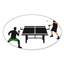 table tennis Decal