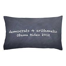 democrats 4 arithmetic Pillow Case