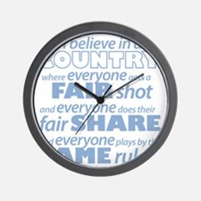 Same Rules Wall Clock