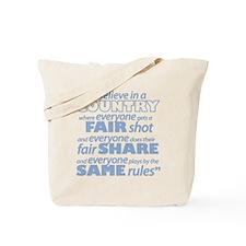Same Rules Tote Bag