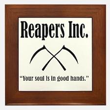 Best Reapers Logo Framed Tile