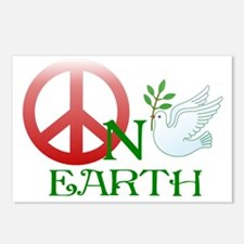 Peace on earth Postcards (Package of 8)