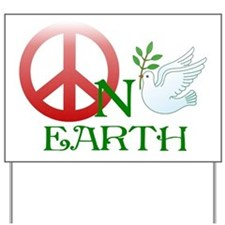 Peace on earth Yard Sign
