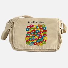 Nurse Practitioner Circles Messenger Bag
