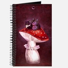 Mushroom Fairy Cat Journal