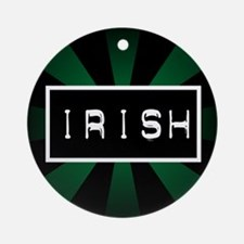 Label me Irish Ornament (Round)