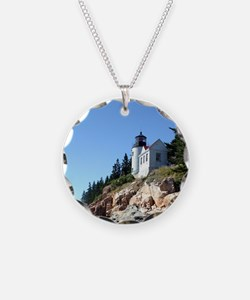 Bass Harbor Light Necklace