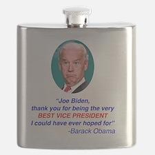 Joe Biden Best VP Collectible Flask