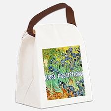 Nurse Practitioner blanket van go Canvas Lunch Bag