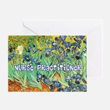 Nurse Practitioner blanket van gogh Greeting Card