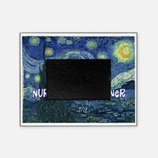 Nurse Practitioner Van goh blanket Picture Frame