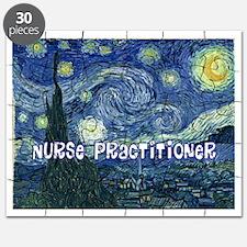 Nurse Practitioner Van goh blanket Puzzle