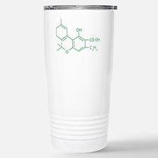 THC Molecule Travel Mug