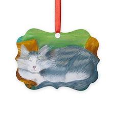 Funky Cat Ornament