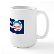 Old White Guy for Barack Obama Mug
