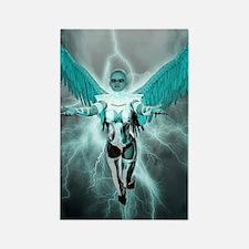 Zephira, Lightning Angel Rectangle Magnet