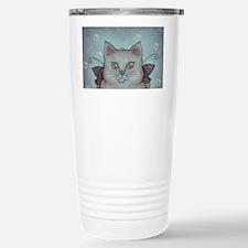 Bubble Cat Stainless Steel Travel Mug