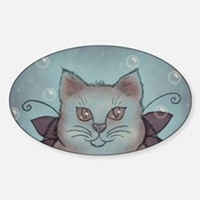 Bubble Cat Decal