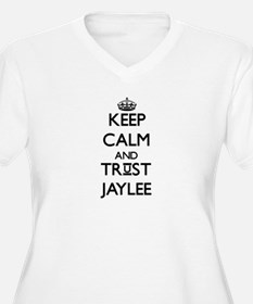 Keep Calm and trust Jaylee Plus Size T-Shirt