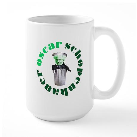 Oscar Schopenhauer Large Mug