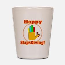 Happy Slaps Giving Shot Glass