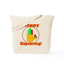 Happy Slaps Giving Tote Bag
