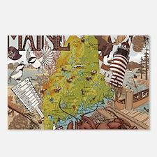 Maine Jada Postcards (Package of 8)