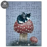 Cat wings Puzzles