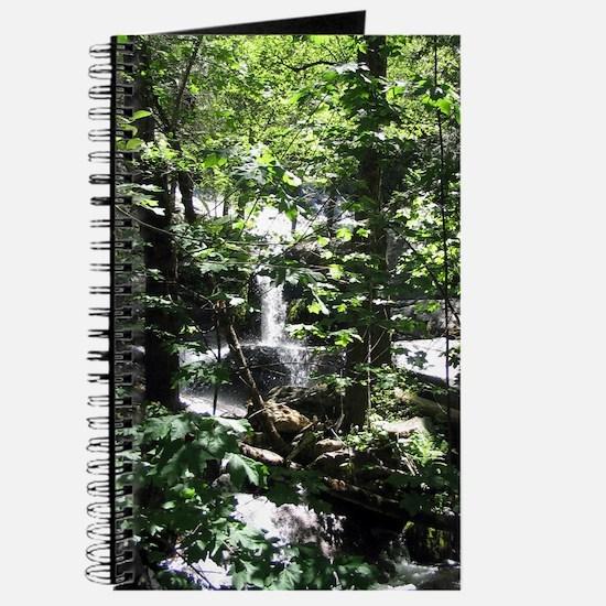 Waterfall Blank Writing Journal