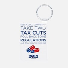 Take Two Tax Cuts Keychains