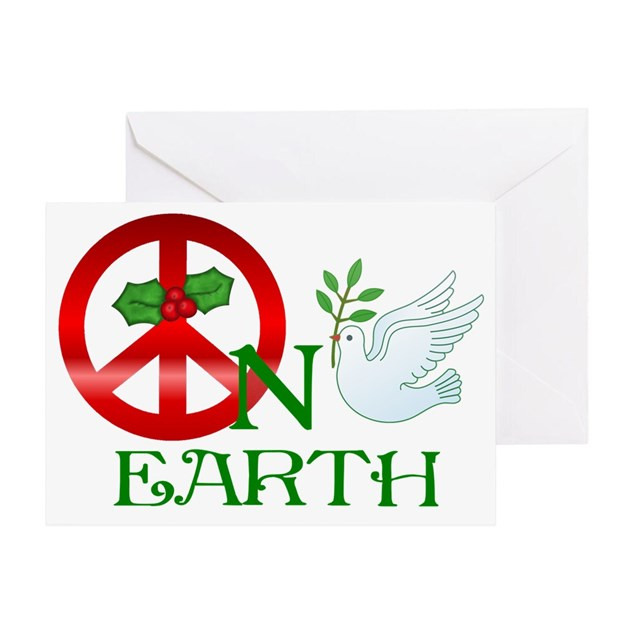 Peace on Earth Greeting Card by Admin_CP10461750