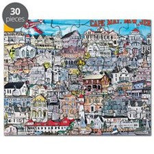 cape may cottages Puzzle