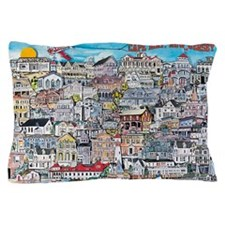 cape may cottages Pillow Case