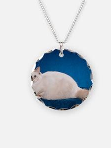 Birman Cat Calendar Necklace