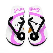 Sue: Smile More Flip Flops