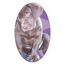 Lab Puppy Decal