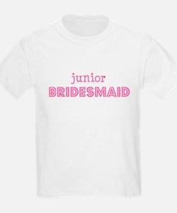 Junior Bridesmaid Kids T-Shirt