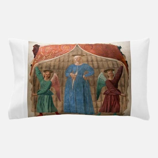 Madonna del Parto - Piero della Francesca Pillow C