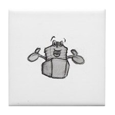Larry Lug Nut Tile Coaster