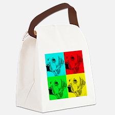 Pop Lab2 Canvas Lunch Bag