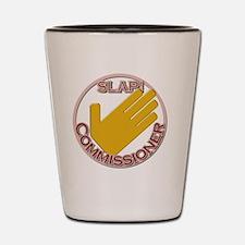 Slap Commissioner Shot Glass