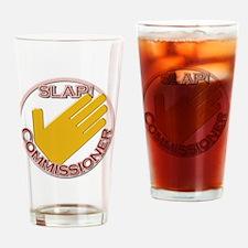 Slap Commissioner Drinking Glass