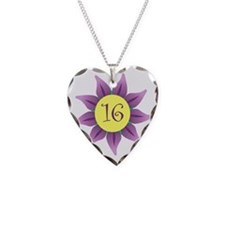 Flower Power Sweet 16 Earring Necklace