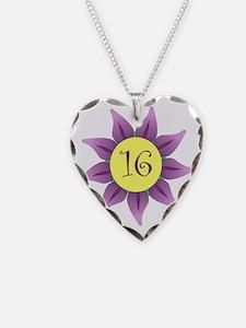 Flower Power Sweet 16 Earring Necklace