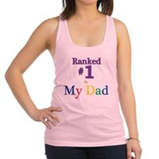 Ranked #1 By My Dad (SEO) Racerback Tank Top