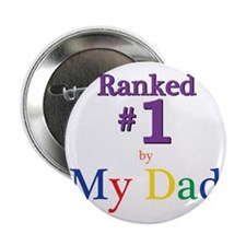 """Ranked #1 By My Dad (SEO) 2.25"""" Button"""